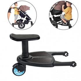 VKTECH Tempat Duduk Tambahan Anak untuk Stroller Bayi - TC-012 - Black