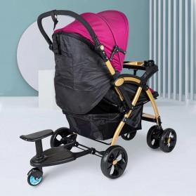 VKTECH Tempat Duduk Tambahan Anak untuk Stroller Bayi - TC-012 - Black - 2