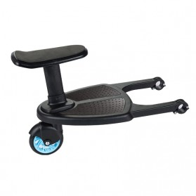 VKTECH Tempat Duduk Tambahan Anak untuk Stroller Bayi - TC-012 - Black - 3