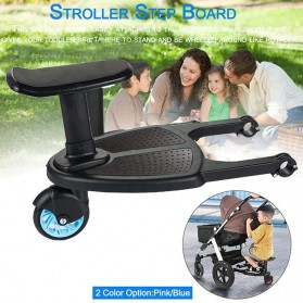 VKTECH Tempat Duduk Tambahan Anak untuk Stroller Bayi - TC-012 - Black - 4