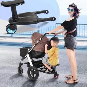 VKTECH Tempat Duduk Tambahan Anak untuk Stroller Bayi - TC-012 - Black - 5