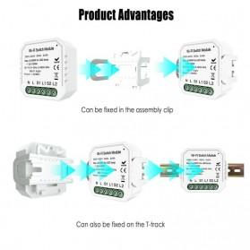 Module Controller WiFi Switch Module Smart Home Control - S2L2 - White - 9