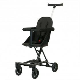 SAITONG Kereta Stroller Bayi Foldable Children Baby Trolley with Fence - LW-112 - Black - 3