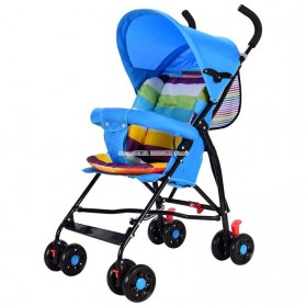 SPARKY Foldable Children Trolley Baby Stroller with Fence - SW517 - Multi-Color - 5