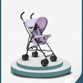 SPARKY Foldable Children Trolley Baby Stroller with Fence - S101 - Gray - 6