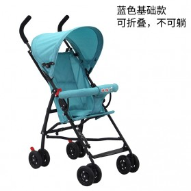 SPARKY Foldable Children Trolley Baby Stroller with Fence - S101 - Gray - 8