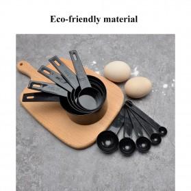 ZISIZI Sendok Takar Ukur Cup Measuring Spoon Size L 5 PCS - CF233 - Black - 7
