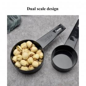 ZISIZI Sendok Takar Ukur Cup Measuring Spoon Size L 5 PCS - CF233 - Black - 8