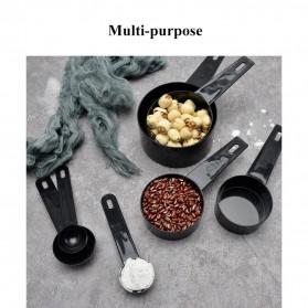 ZISIZI Sendok Takar Ukur Cup Measuring Spoon Size L 5 PCS - CF233 - Black - 9