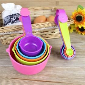 ZISIZI Sendok Takar Ukur Cup Measuring Spoon Size S 5 PCS - CF234 - Multi-Color - 2