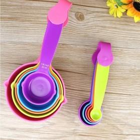ZISIZI Sendok Takar Ukur Cup Measuring Spoon Size S 5 PCS - CF234 - Multi-Color - 4
