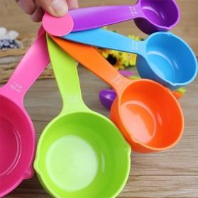 ZISIZI Sendok Takar Ukur Cup Measuring Spoon Size S 5 PCS - CF234 - Multi-Color - 5