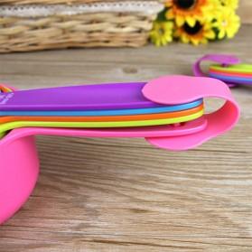 ZISIZI Sendok Takar Ukur Cup Measuring Spoon Size S 5 PCS - CF234 - Multi-Color - 7