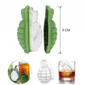 Winzwon Cetakan Es Batu Ice Cube Tray Mold Model Granat - A188 - Green