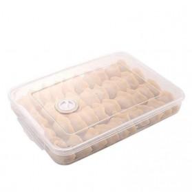 LuckyFox Kotak Kontainer Makanan Kulkas Kitchen Storage Food Box - RFS48 - Transparent - 2