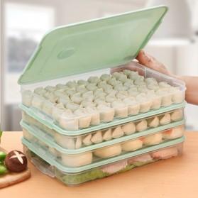 LuckyFox Kotak Kontainer Makanan Kulkas Kitchen Storage Food Box - RFS48 - Transparent - 3