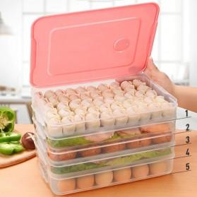 LuckyFox Kotak Kontainer Makanan Kulkas Kitchen Storage Food Box - RFS48 - Transparent - 4