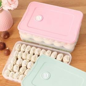 LuckyFox Kotak Kontainer Makanan Kulkas Kitchen Storage Food Box - RFS48 - Transparent - 5