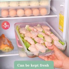 LuckyFox Kotak Kontainer Makanan Kulkas Kitchen Storage Food Box - RFS48 - Transparent - 6