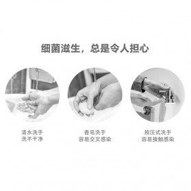 Finet Dispenser Sabun Otomatis Touchless Foaming Soap 400ml - F040 - White - 3