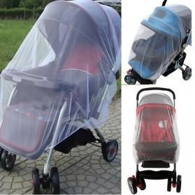 Alloet Jaring Anti Nyamuk Stroller Kereta Bayi Mosquito Net Safe - 7001-C - White - 2
