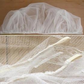 Alloet Jaring Anti Nyamuk Stroller Kereta Bayi Mosquito Net Safe - 7001-C - White - 5