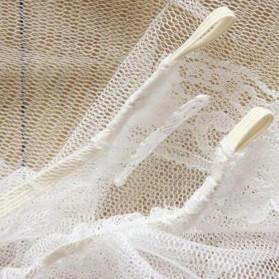Alloet Jaring Anti Nyamuk Stroller Kereta Bayi Mosquito Net Safe - 7001-C - White - 6