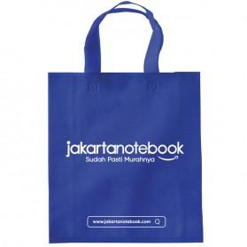 Kantong Belanja Tote Bag Reusable Jakartanotebook - Blue - 2