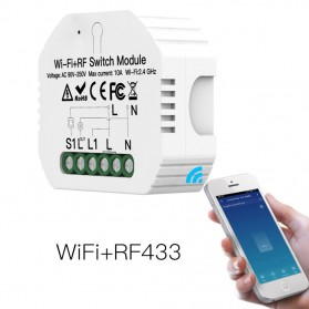 IGRELI Module Controller WiFi RF Switch Module Smart Home Control - WK201 - White - 1