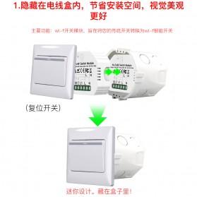 IGRELI Module Controller WiFi RF Switch Module Smart Home Control - WK201 - White - 5