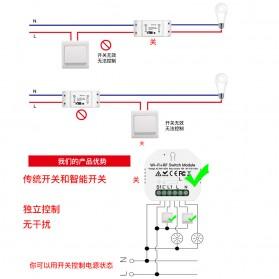 IGRELI Module Controller WiFi RF Switch Module Smart Home Control - WK201 - White - 6