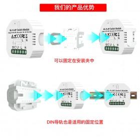 IGRELI Module Controller WiFi RF Switch Module Smart Home Control - WK201 - White - 10