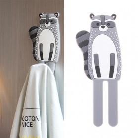 Homexw Gantungan Dekorasi Kulkas Magnetic Fridge Hook Hanger - DB1120 - Orange - 4