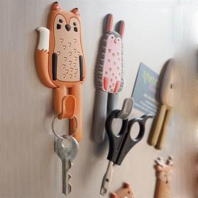 Homexw Gantungan Dekorasi Kulkas Magnetic Fridge Hook Hanger - DB1120 - Orange - 5