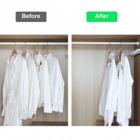DIDIHOU Hanger Gantungan Baju Wardrobe Closet Connect Hook 1PCS - DH12 - White - 2
