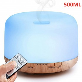 Himist Air Humidifier Aromatherapy Oil Diffuser 7 Color 500ml with Remote Control - HK70
