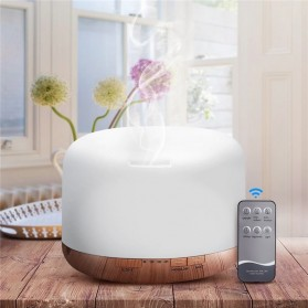 Himist Air Humidifier Aromatherapy Oil Diffuser 7 Color 500ml with Remote Control - HK70 - White - 2