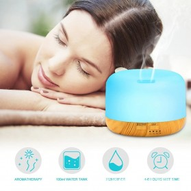 Himist Air Humidifier Aromatherapy Oil Diffuser 7 Color 500ml with Remote Control - HK70 - White - 4