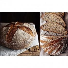 SHENHONG Cetakan Adonan Kue Rotan Bread Dough Rattan Banneton Basket Round-XL - PJ536 - Khaki - 7