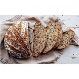 SHENHONG Cetakan Adonan Kue Rotan Bread Dough Rattan Banneton Basket Round-XL - PJ536 - Khaki - 8