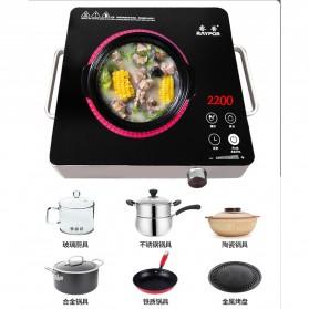 Ruipu Kompor Listrik Induksi Induction Cooker Stove Touch Screen 2200W - RPLB-22E - Black - 3
