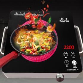 Ruipu Kompor Listrik Induksi Induction Cooker Stove Touch Screen 2200W - RPLB-22E - Black - 5