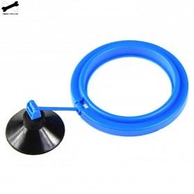 FPC Ring Tempat Makan Ikan Tank Station Floating Food Tray - AFR48 - Blue
