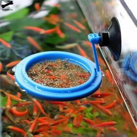 FPC Ring Tempat Makan Ikan Tank Station Floating Food Tray - AFR48 - Blue - 2