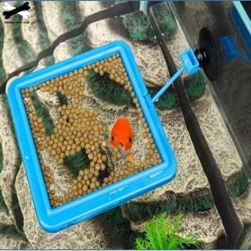 FPC Ring Tempat Makan Ikan Tank Station Floating Food Tray - AFR48 - Blue - 4