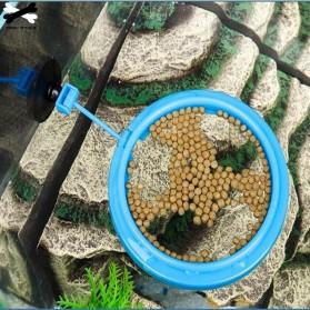 FPC Ring Tempat Makan Ikan Tank Station Floating Food Tray - AFR48 - Blue - 5