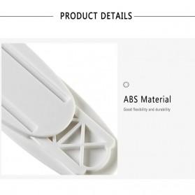 Liplasting Rak Gantungan Hook Wall Hanger Organizer Adhesive 10.3x4cm - TC23 - White - 8
