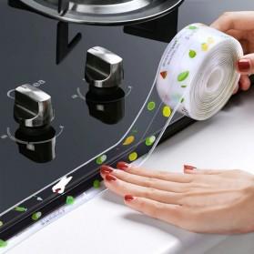 SPG Sticker Anti Jamur Self-adhesive Anti-mold Waterproof 3.7CM x 3.2M - CN1333 - Blue - 3