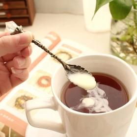 JYC Set Sendok Garpu Teh Vintage Teaspoon Fork Royal Style - LTA057 - Golden - 4