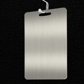 YOMDID Talenan Multifungsi Cutting Board Stainless Steel 250 x 360 mm - KG03Q - Silver - 2
